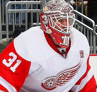 Jared Coreau - Detroit Red Wings